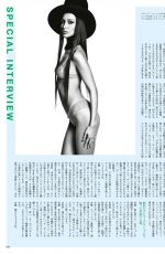 BELLA HADID in Vogue Magazine, Japan December 2020