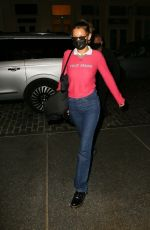 BELLA HADID Night Out in New York 10/15/2020