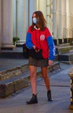 BELLA HADID Out and About in New York 10/15/2020