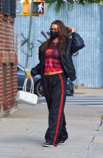 BELLA HADID Out and About in New York 10/27/2020