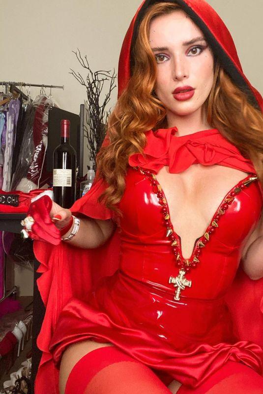 BELLA THORNE as Red Riding Hood - Instagram Photos 10/25/2020