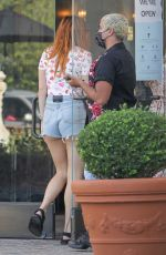 BELLA THORNE Shopping at Kingdom Boutique in Calabasas 10/01/2020