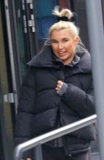 BILLIE FAIERS Leaves Ice Skating Rink in London