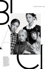 BLACKPINK in Elle Magazine, October 2020