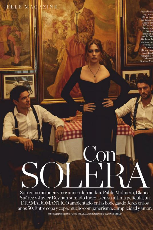 BLANCA SUAREZ in Elle Magazine, Spain November 2020