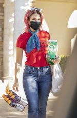 BRITTANY FURLAN Out Shopping in Los Angeles 10/28/2020