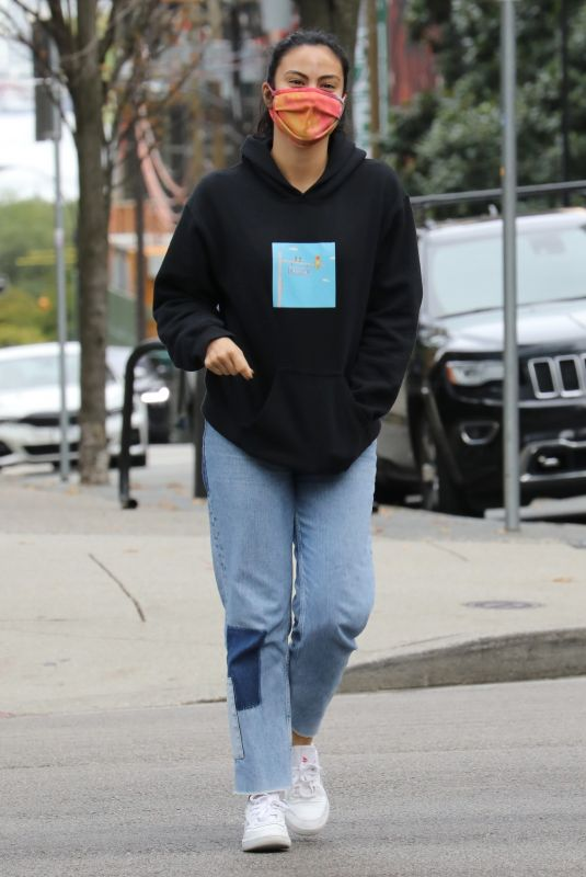 CAMILA MENDES Out in Vancouver 10/17/2020