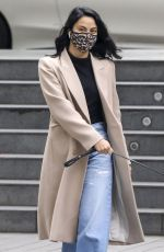 CAMILA MENDES Out with Her Dog in Vancouver 10/27/2020
