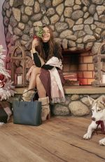 CAMILA MORRONE for Coach Holiday Campaign 10/27/2020