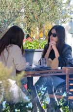 CAMILA MORRONE Out for Lunch with Her Mother in West Hollywood 10/28/2020