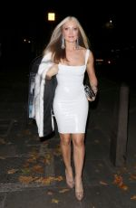 CAPRICE BOURRET Arrives at Proud Embankment in London 10/23/2020