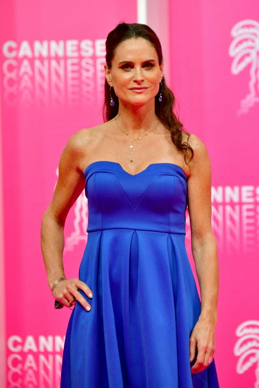 CAROLE DECHANTRE at Canneseries in Cannes 10/10/2020