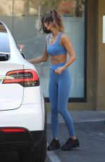 CHANTEL JEFFRIES at Earthbar in West Hollywood 10/28/2020