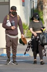CHERYL BURKE Leaves Dance Practice in Los Angeles 10/09/2020