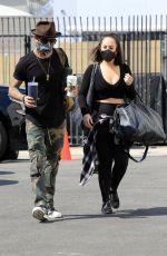 CHERYL BURKOE Arrives at DWTS Studios in Los Angeles 10/03/2020