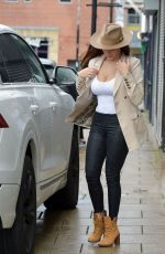 CHLOE GOODMAN Out Shopping in Newcastle 09/30/2020