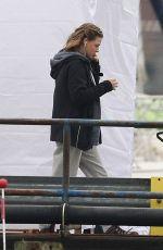 CHLOE MORETZ Filming in East Boston 10/29/2020