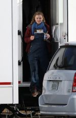 CHLOE MORETZ on the Set of Mother/android in Boston 10/08/2020