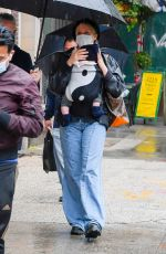 CHLOE SEVIGNY Out and About in New York 10/17/2020