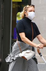 CHLOE SEVIGNY Out on Broadway in New York 10/21/2020
