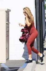 CHRISHELL STAUSE Arrives at Dance Practice in Los Angeles 10/29/2020