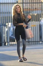 CHRISHELL STAUSE Arrives at DWTS Practice in Los Angeles 10/14/2020