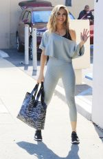 CHRISHELL STAUSE Arrives at DWTS Rehersal in Los Angeles 10/28/2020