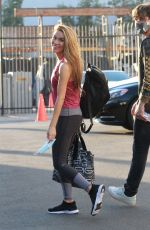 CHRISHELL STAUSE Arrives at DWTS Studio in Los Angeles 10/30/2020
