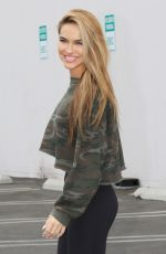 CHRISHELL STAUSE at Dancing with the Stars Rehersal in Loa Angeles 10/24/2020