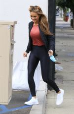 CHRISHELL STAUSE at Dancing with the Stars Studio in Los Angeles 10/25/2020