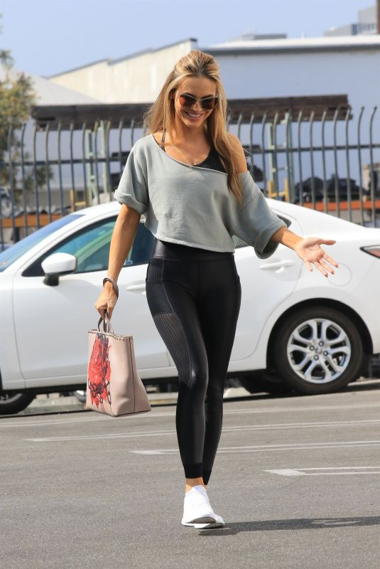 CHRISHELL STAUSE at DWST Studio in Los Angeles 10/20/2020