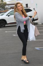 CHRISHELL STAUSE at DWTS Studio in Los Angeles 10/22/2020