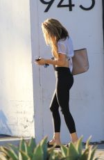 CHRISHELL STAUSE Leaves DWTS Practice in Los Angeles 10/13/2020