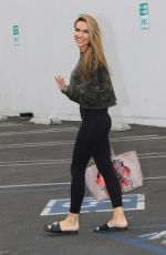 CHRISHELL STAUSE Leaves DWTS Rehersal in Los Angeles 10/24/2020