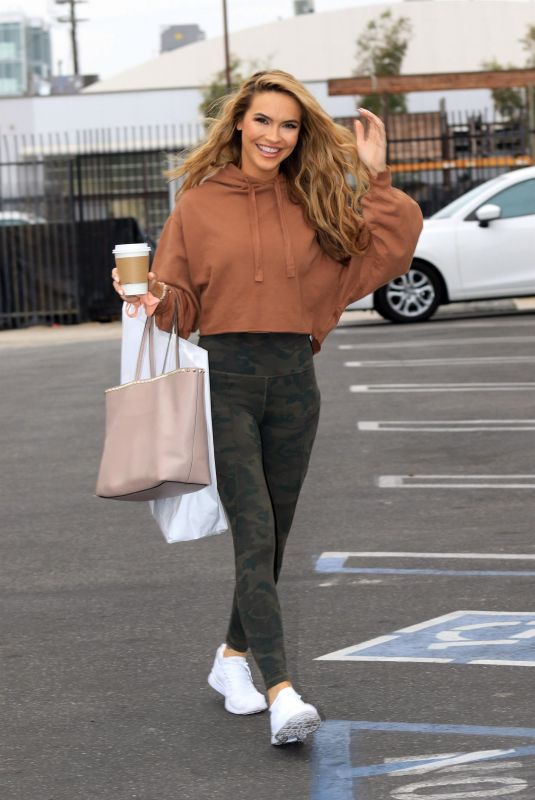 CHRISHELL STAUSE Leaves DWTS Studio in Los Angeles 10/23/2020