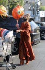 CHRISSY TEIGEN Out Shopping at Bristol Farms in Los Angeles 10/15/2020