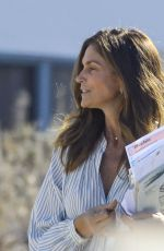 CINDY CRAWFORD and KAIA GERBER Out to Vote in Malibu 10/30/2020