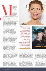 CLAIRE DANES in Fairlady Magazine, November 2020