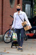CLAIRE DANES Out and About in Nw York 10/22/2020