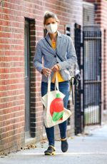 CLAIRE DANES Out Shopping in New York 10/14/2020