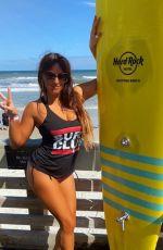 CLAUDIA ROMANI for American Clothing Brand Surf Broads at Hard Rock Hotel in Daytona Beach 10/25/2020