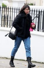 DAISY LOWE Out in Primrose Hill 10/12/2020