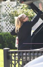 DAKOTA FANNING Arrives at Her Home in Los Angeles 10/19/2020