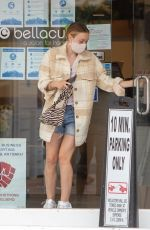DAKOTA FANNING Out and About in Studio City 10/22/2020