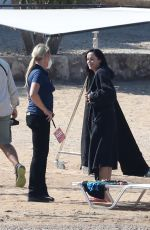 DAKOTA JOHNSON on the Set of The Lost Daughter in Greece 10/14/2020