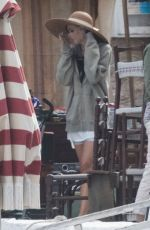 DAKOTA JOHNSON on the Set of The Lost Daughter in Greece 10/20/2020