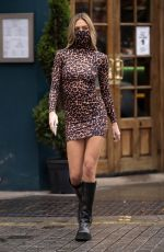 DELILAH HAMLIN Out and About in London 10/12/2020