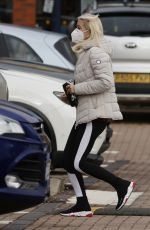 DENISE VAN OUTEN and Matt Evers Out in Essex 10/16/2020