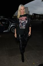 DENISE VAN OUTEN Arrives at Halloween Special of Her Cabaret Show in London 10/26/2020