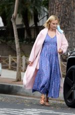 DIANE KRUGER Out and About in Los Angeles 10/24/2020